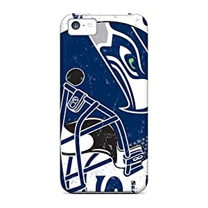 Ultra Slim Fit Hard Casecover88 Cases Covers Specially Made For Iphone 5c- Seattle Seahawks