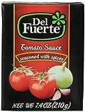 DEL FUERTE Tomato Sauce, 7.4 Ounce