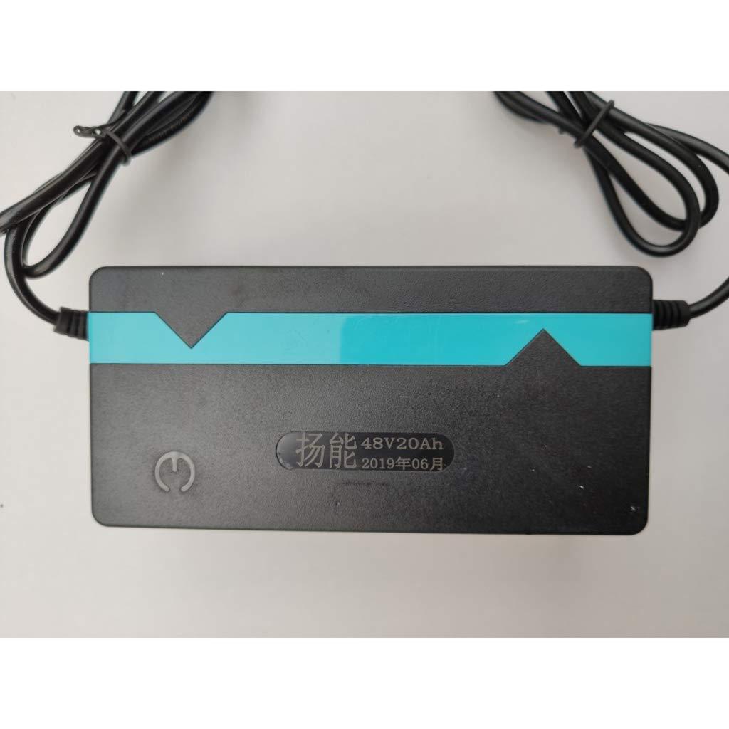 perfk 48 Volt 2,5 Amp Elektroroller Fahrrad Batterieladeger/ät Autobatterie Ladeger/ät f/ür Motorrad
