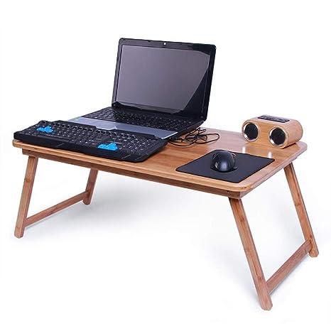 Zfggd Cama Plegable Mesa de Escritorio del Ordenador portátil for ...