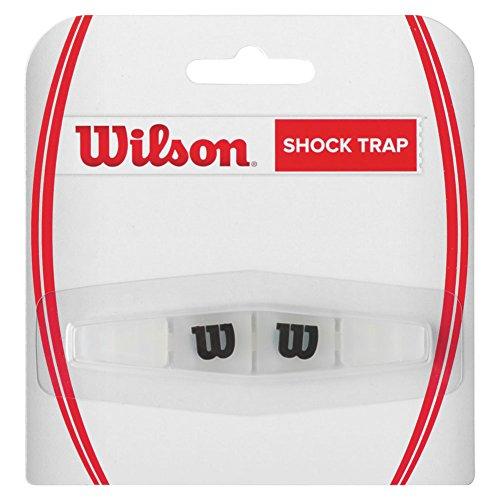 Trap Dampener (Wilson Sporting Goods Shock Trap Tennis Racket Grip, Black/Clear)