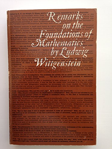 Remarks on the Foundations of Mathematics (Bilingual Edition) (English and German Edition)