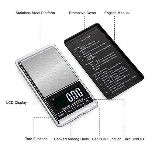 Pocket digital scale .001
