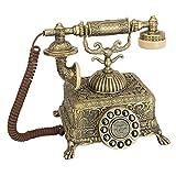 Design Toscano Antique Phone - Grand Emperor 1933 Rotary Telephone - Corded Retro Phone - Vintage Decorative Telephones