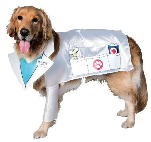 Rubies Costume Halloween Classics Collection Pet Costume, Doctor