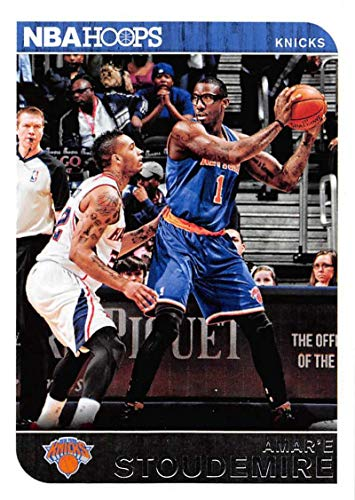 2014-15 Panini Hoops Basketball #22 Amar'e Stoudemire New York Knicks Official NBA Trading - Stoudemire Amare Nba