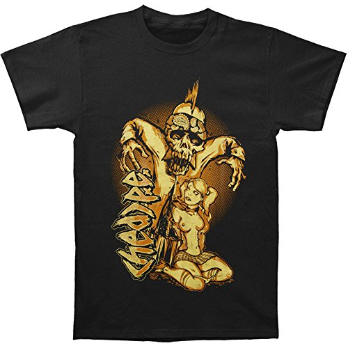 (hed)pe Men's Simple Zombie T-shirt Black