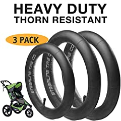 ".This Universal Inner Tube Set Is Compatible For Most 16"" Rear Tires And 12.5"" Front Tire Models Of All Jogging Strollers, Including The Following Strollers: Baby Trend Jogger Series Stroller, Mountain Buggy Terrain Stroller, Bumbleride Speed..."