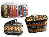 Cosmetic Makeup Bag Size: 6.7'' x 4.3'' x 4'' , Case of 144