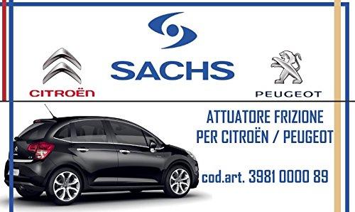 Actuador embrague Sachs para Citroen C3 I 1.6 16 V 80 KW 3981000089: Amazon.es: Coche y moto