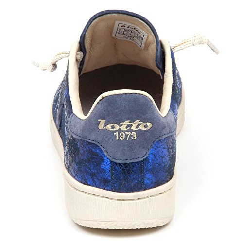 Autograph Sneakers Blu Leggenda Pelle Donna Blu Lotto awpzvqS