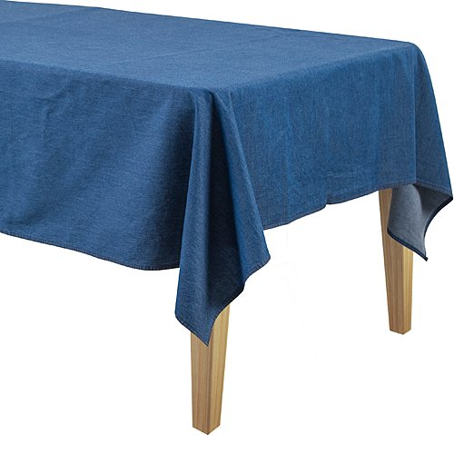 Dark Denim Table Cover]()