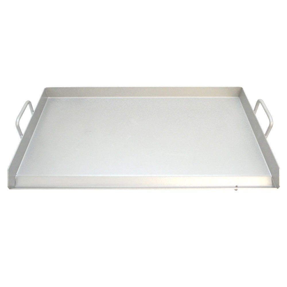 9TRADING Thick Stainless Steel Griddle Flat Top Rectangular Grill,Free Tax, Delivered Within 10 Days