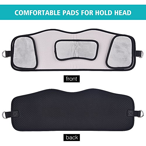MS.DEAR Head Hammock for Neck Pain Relief, Hammock Stretcher Cervical Traction for Neck, With One Eye Mask for Sleeping by MS.DEAR (Image #3)
