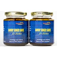 Savory Ginger Sauce,pack of 2, All Natural Gourmet Sauce, No MSG, Made In USA