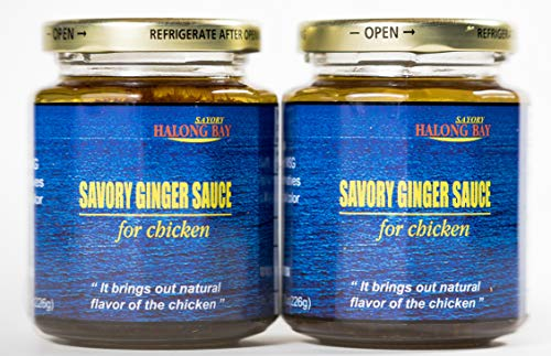 Savory Ginger Sauce, All Natural Gourmet Chicken Sauce, Pack Of 2, No Added MSG, Made In USA
