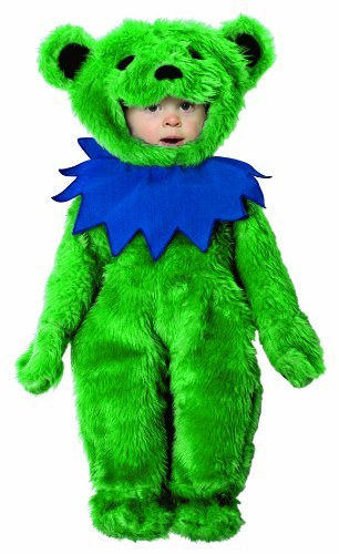 [Rasta Imposta Grateful Dead Dancing Bear Costume, Green, 18-24 mos] (Bear Head Costume Amazon)