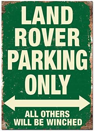 Citroen Parking Only Affiche /Étain M/étal Mur Signe Vintage Plaque R/étro Attention D/écorative M/étallique Panneau pour Caf/é Bar Chambre H/ôtels Clubs Parc