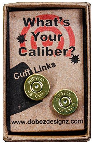 45 Colt Brass Cuff Links (Midway)
