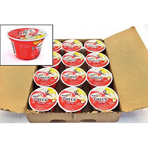 Yoplait Greek Blended Vanilla Yogurt, 5.3 Ounce -- 12 per case. by General Mills (Image #1)