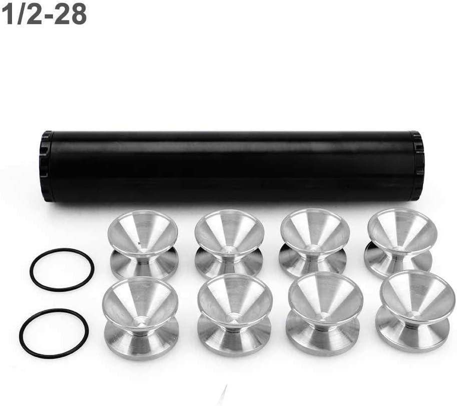 Automotive Only 5//8-24 Aluminiumlegierung 24003 4003 WIX NAPA 4003 1//2-28 Goglor 1//2-28 Auto Kraftstofffilter Aluminiumlegierung 13St Universal Automotive Ersatz Kraftstofffilter