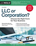 img - for LLC or Corporation?: Choose the Right Form for Your Business book / textbook / text book