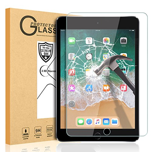 iPad Mini 1 2 3 Screen Protector Glass, SMAPP Easy Installation Tempered Glass Screen Protector Apple iPad Mini 1/ipad Mini 2/iPad Mini 3 (Not Compatible iPad Mini 4) - Mini Apple Ipad Protector Screen