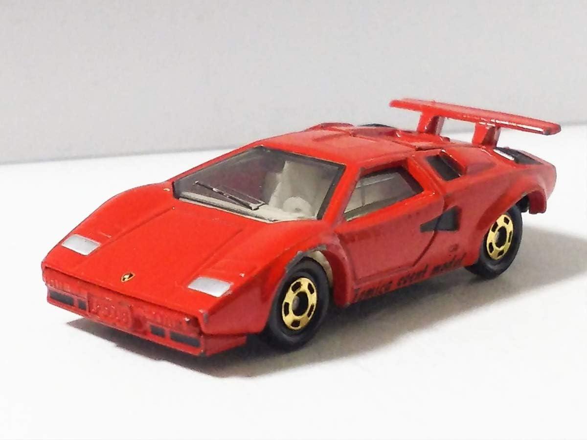 Takara Tomy Tomica Premium 10 Lamborghini Countach LP500S Scale 1//64 Diecast Toy