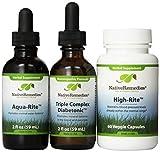Native Remedies Diabetonic, 2 fl oz Aqua-Rite  and High-Rite