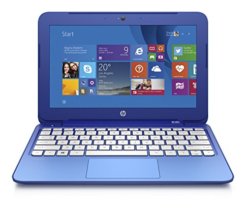 HP Stream 11.6 Inch Laptop (Intel Celeron 2GB 32GB SSD Horizon Blue) Includes Office 365 Personal for One Year