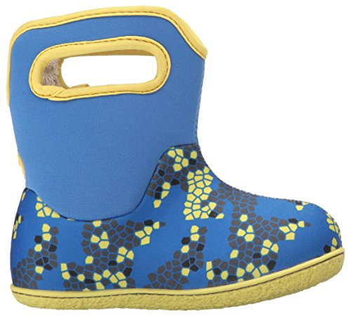 Kids' Bogs Boot Multi Axel Blue Snow dAaqwA4