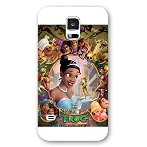 Customized White Disney Cartoon Princess And The Frog Samsung Galaxy S5 Case