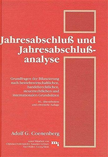 Jahresabschluß und Jahresabschlußanalyse. 16. Auflage.