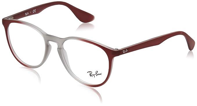 2354b67eeac1 Ray-Ban Women's RX7046 Eyeglasses Light Brown On Brordeaux Gradi 51mm