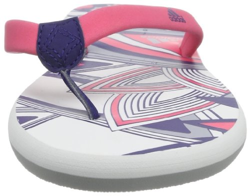 adidas Performance Chilwa 2 M22174 Damen Dusch- & Badeschuhe Blau (Night Blue F13/Mid Grey S14/Bahia Pink S14)
