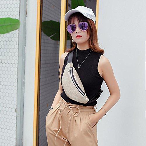 Winkey Sac Poitrine la Femme Paillettes Bling Mode Sac Messenger de HpxRfwH