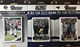 Los Angeles Rams 3 Factory Sealed Team Set Gift Lot Including 2018 Donruss, 2016 Score and 2015 Score Team Sets Featuring Rookie Cards of Jared Goff and Todd Gurley, Plus Cards of Marshall Faulk, Cooper Kupp and Others