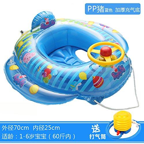PXYUAN kinderschwimmring 1 - 6 años bebé seguridad montar ...