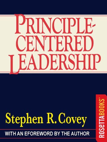 Principle-Centered Leadership (Self Centered Leadership compare prices)