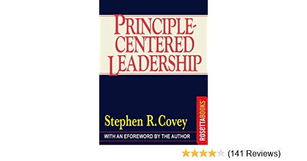 Principle Centered Leadership Ebook