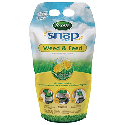 Scotts 24590 Snap Pac Lawn Food Weed & Feed (3 Pack), 12.8 ()