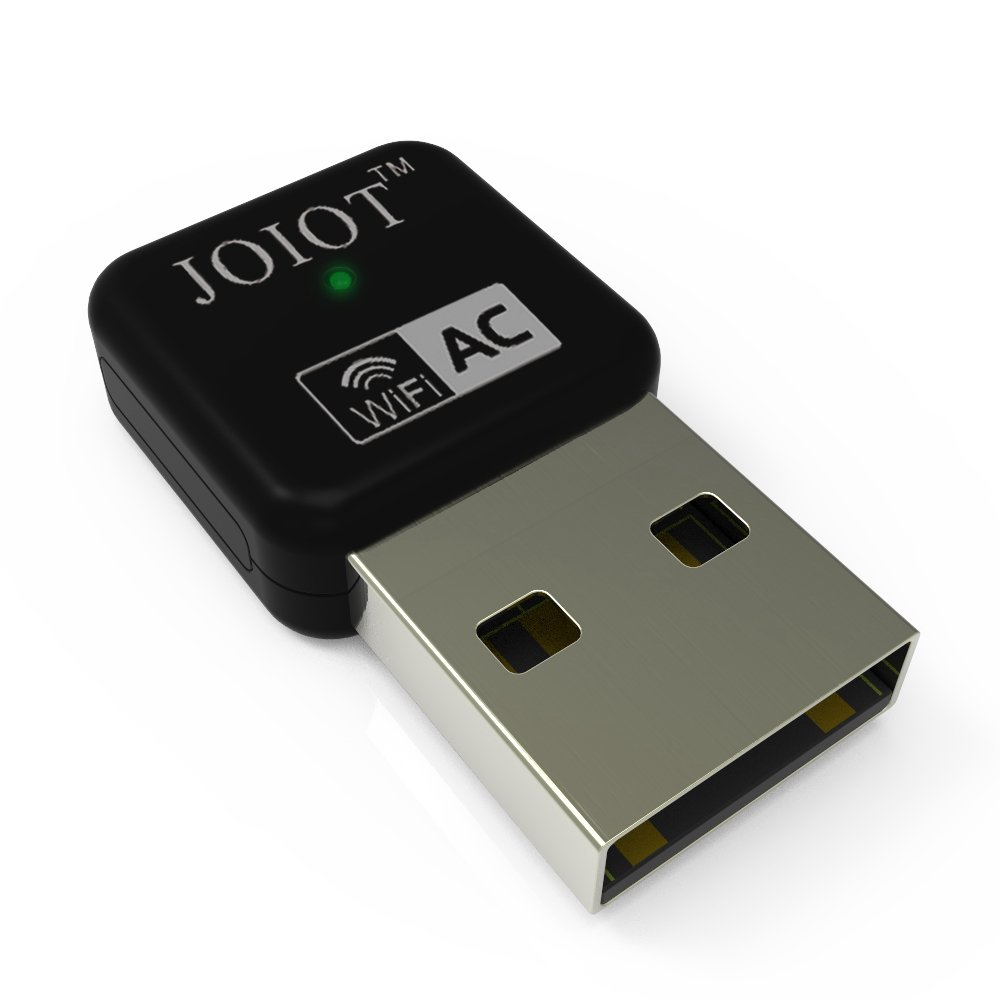 JOIOT USB to WiFi Connection 600Mbps AC600 Nano USB WiFi Adapter with Dual Band wireless for Laptop and Desktop, 5GHz 433Mbps and 2.4GHz 150Mbps, Backward Compatible with 802.11 a/b/g/n by JOIOT