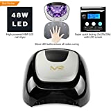 MelodySusie® New Collection High Quality 48W LED Lamp Light Professional Nail Dryer CURING Light More Quickly Dry, with Timmer Setting 5s/20s/30s