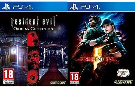 Resident Evil Origins Collection & Evil 5 HD: Amazon.es: Videojuegos