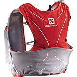 Salomon S-Lab ADV Skin3 5 Pack Set Racing Red/Aluminium/White, XL