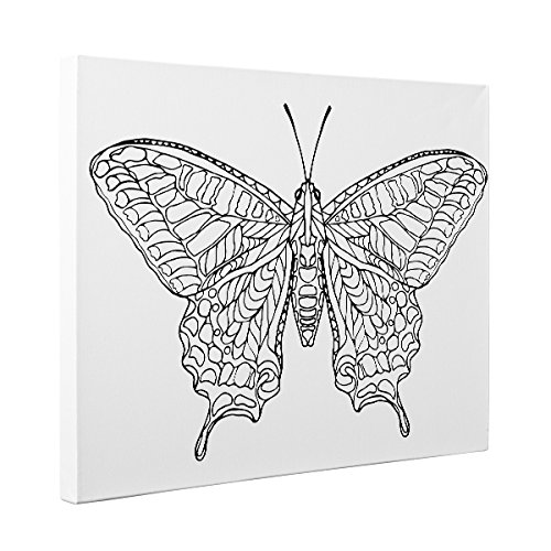 - Amazon.com: Butterfly Art Therapy Coloring Canvas Home Decor: Handmade