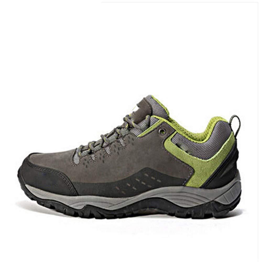 UCNHD Wanderhalbschuhe Outdoor Hiking schuhe for Men Shock Absorption Anti-Skid Wear-Resistant Camping Walking Turnschuhe
