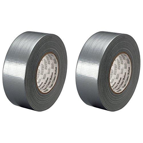 2-Pack 3M Scotch Medium Utility Duct Tape Silver, 1.88 in x