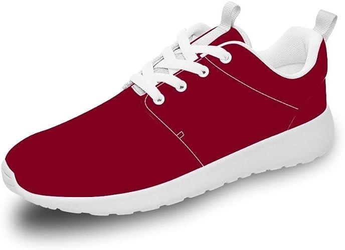 Mesllings Unisex Zapatillas de Running para Caminar, Color ...