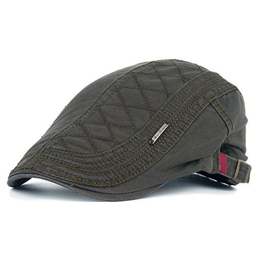 de9ba1fc022 Thenice Mens Vintage Style Flat Cap Gatsby Ivy Caps Irish Hunting Hats -  Buy Online in Bahrain.